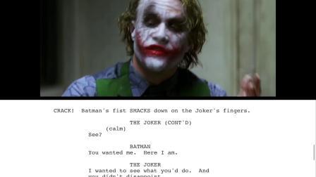 Dark Knight Joker Interrogation Scene