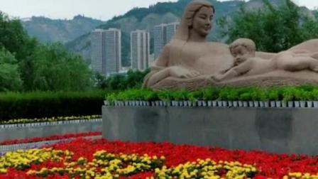 兰州黄河母亲雕像,兰州的一张名片!