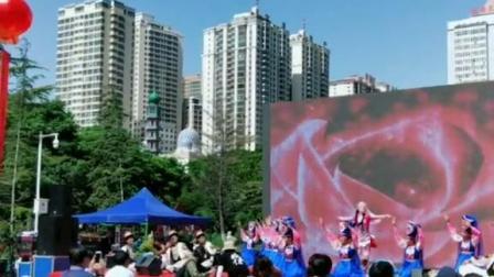 兰州七里河区民族舞蹈