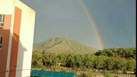 河北迁西,雨后彩虹