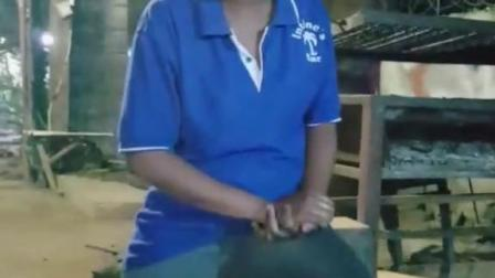 非洲烧烤妹!