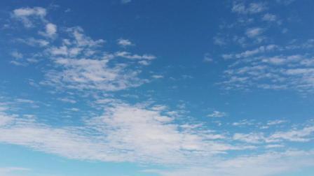 无人机拍摄梅沙尖云海