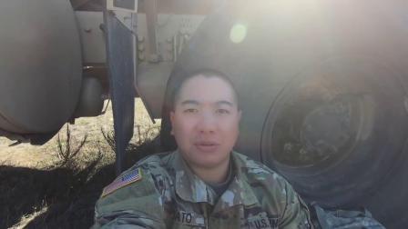 【Vlog-005】美國陸軍 肥宅阿兵哥跟著連隊去郊野搭帳篷,紮營訓練一整天!