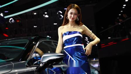 陈婉萍pinky 車展美模 廣州國際車展 2018 廣汽新能源汽車