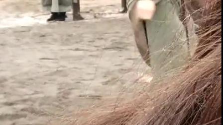 楚乔传2拍摄现场!演员拍打戏!