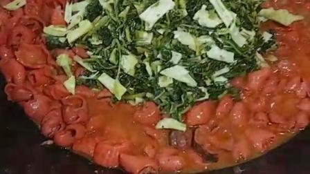 大肠只有烧雪菜才好吃。
