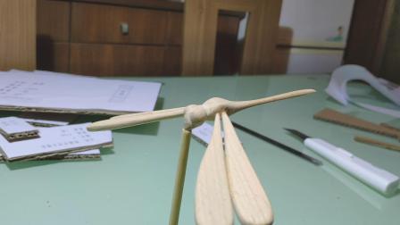 手工平衡木蜻蜓