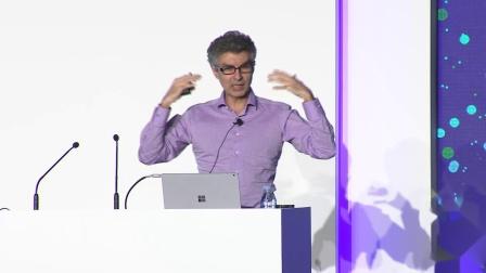 """2018年""""二十一世纪的计算""""学术研讨会暨微软教育峰会——Yoshua Bengio"""