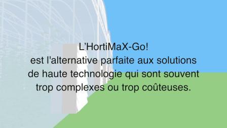 新型温室控制器 HortiMaX-Go! The New Smart Greenhouse Controller HortiMaX-Go!
