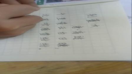 对甫小学书写达人二年级谭氏笔法学员吴慧莹(1)