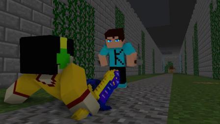 我的世界动画-双刀 vs 双刀-Ordem da pedra Animations