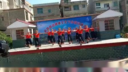 我祝祖国三杯酒  资江广场舞健身队