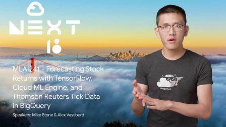 Forecasting Stock Returns with TensorFlow, Cloud M