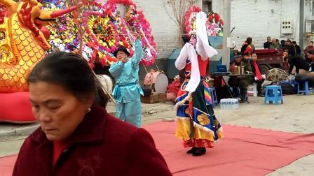 陕西省甘泉县农村歌舞