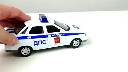 拉达汽车警察玩具