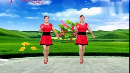 恰恰舞《桃花运》80年代经典金曲杨莹莹演唱玫香广场舞