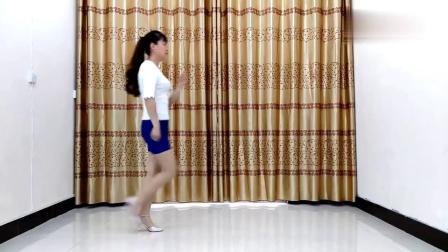 恰恰风格步子舞《错过缘分错过你》简单32步华美舞动广场舞
