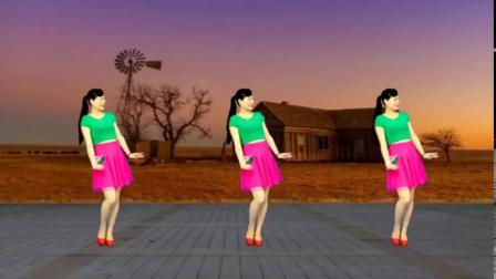 优美韵律32步广场舞《情歌美》歌甜舞醉,好听好看又好学