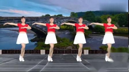 最新原创俏皮32步《快乐老家》附口令分解华美舞动广场舞