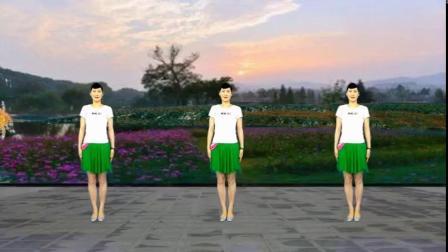 初学者8步广场舞《格桑拉》舞步简单,好听好看又好学