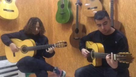 mustafa&xirali 演奏吉普赛国王的feana