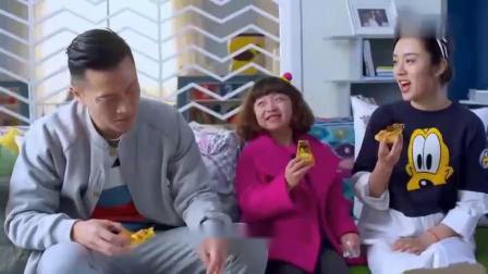 《二胎时代》陆晓东买披萨回家吃,馨儿问灿灿会做披萨吗?