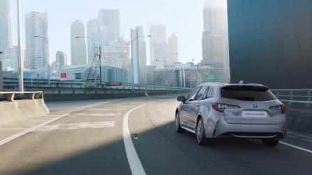 卡罗拉双擎旅行版 2019 Toyota Corolla Touring Sports