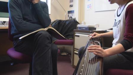现场版古琴曲《流水》----廖妮妮琴筝
