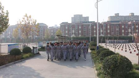 辉县市赵固乡中心学校最美大课间 小郭航拍13223759998