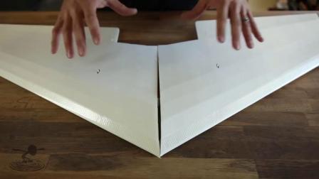 创艺星模型Flite Test - FT Versa Wing FT叛逆飞翼 制作教程