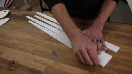 创艺星模型 Flite Test - FT Simple Soarer FT ss滑翔机制作教程