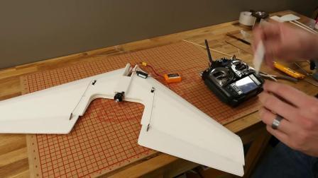 创艺星模型 FT Mighty Mini Arrow Flite Test FT飞箭飞翼制作教程