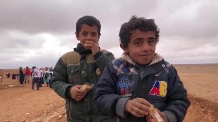 UNICEF援助物资抵达叙利亚难民营
