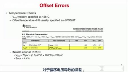 电流感应放大器详解 (七) -- 与输入偏移有关的误差来源