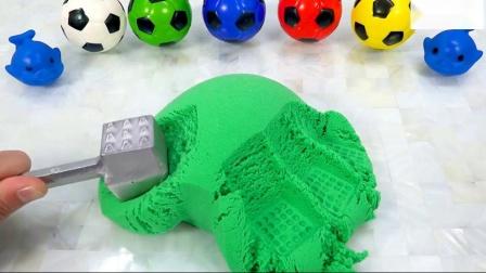 宾果如何制作彩虹动态沙甲虫西瓜蛋糕惊喜儿童玩具