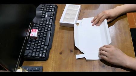 8粒mon巧克力盒折法视频