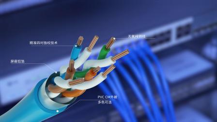26AWG线径Cat5e超五类屏蔽(FTP)网络跳线是什么-飞速(FS)