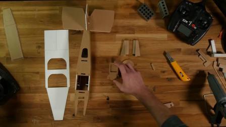 创艺星模型 FT Pietenpol - Build - Flite Test FT Pietenpol制作教程