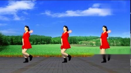 广场舞《青青河边草》入门转位32步水兵舞,简单好看又好学