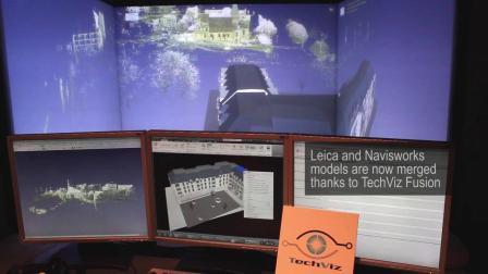 使用融合模块将CAD和CAE设计分析数据模型整合并VR可视化——TechViz模块展示