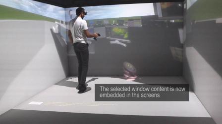 在3D数据虚拟样机上验证2D人机界面 通过交互画面集成(i3)模块验证交互实感——TechViz模块展示