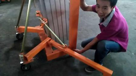 物料机操作视频