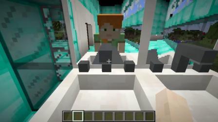 我的世界动画-土屋 vs 钻石屋-Alex & Steve