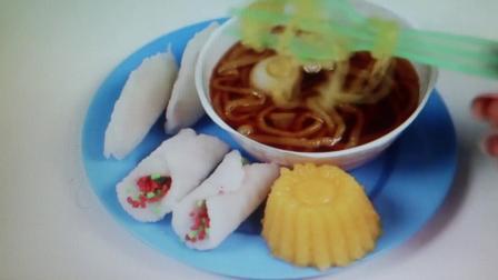 【清风搬运】【日本食玩-可食】七口春卷 吸口拉面 还有芒果布丁哦× 多么美好的生活w~(*╹▽╹)