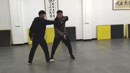 唐强说八极  八极拳六大开缠的实战运用