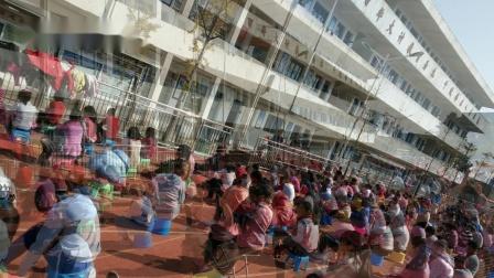 观音寺镇中学举行期中总结表彰会