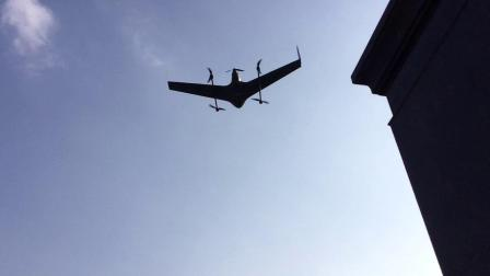 ZT-3V电动垂直起降固定翼无人机试飞视频