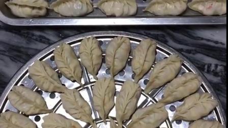 今天的饺子早餐换种包法……第一次这样包