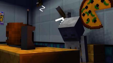 我的世界动画-怪物学院 vs 玩具熊披萨店-Pigmus