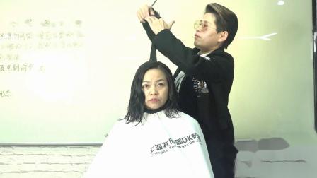上海托尼盖美发学院 剪发视频 美发技术